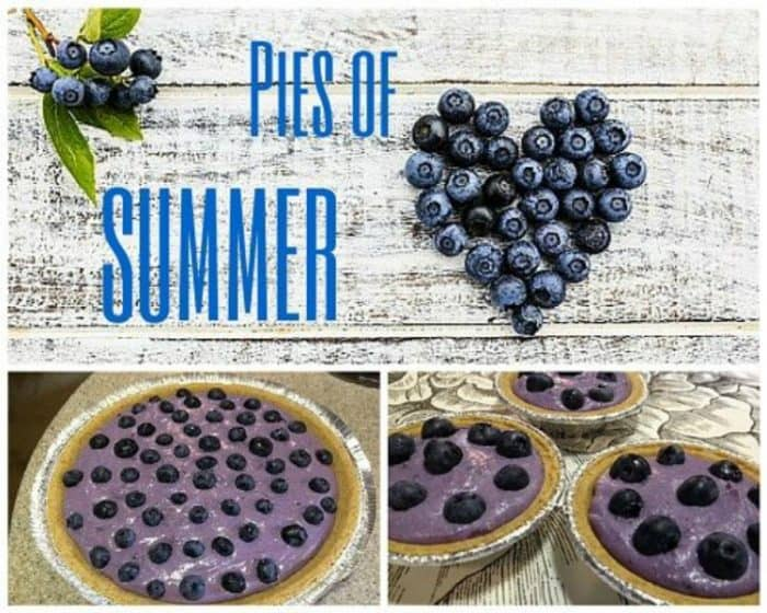 Blueberry Pie means Summertime doesn't it? Long hot days and cool evenings, more time outside and less time in the kitchen! Two Awesome Recipes to Enjoy!