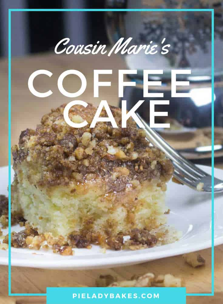 Easy to make old fashioned coffee cake includes brown sugar, cinnamon, fresh walnuts all swimming in creamy caramel sauce. It's the bomb!