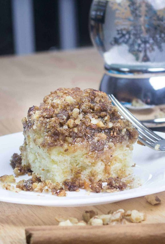 Cousin Marie's Old Fashioned Coffee Cake