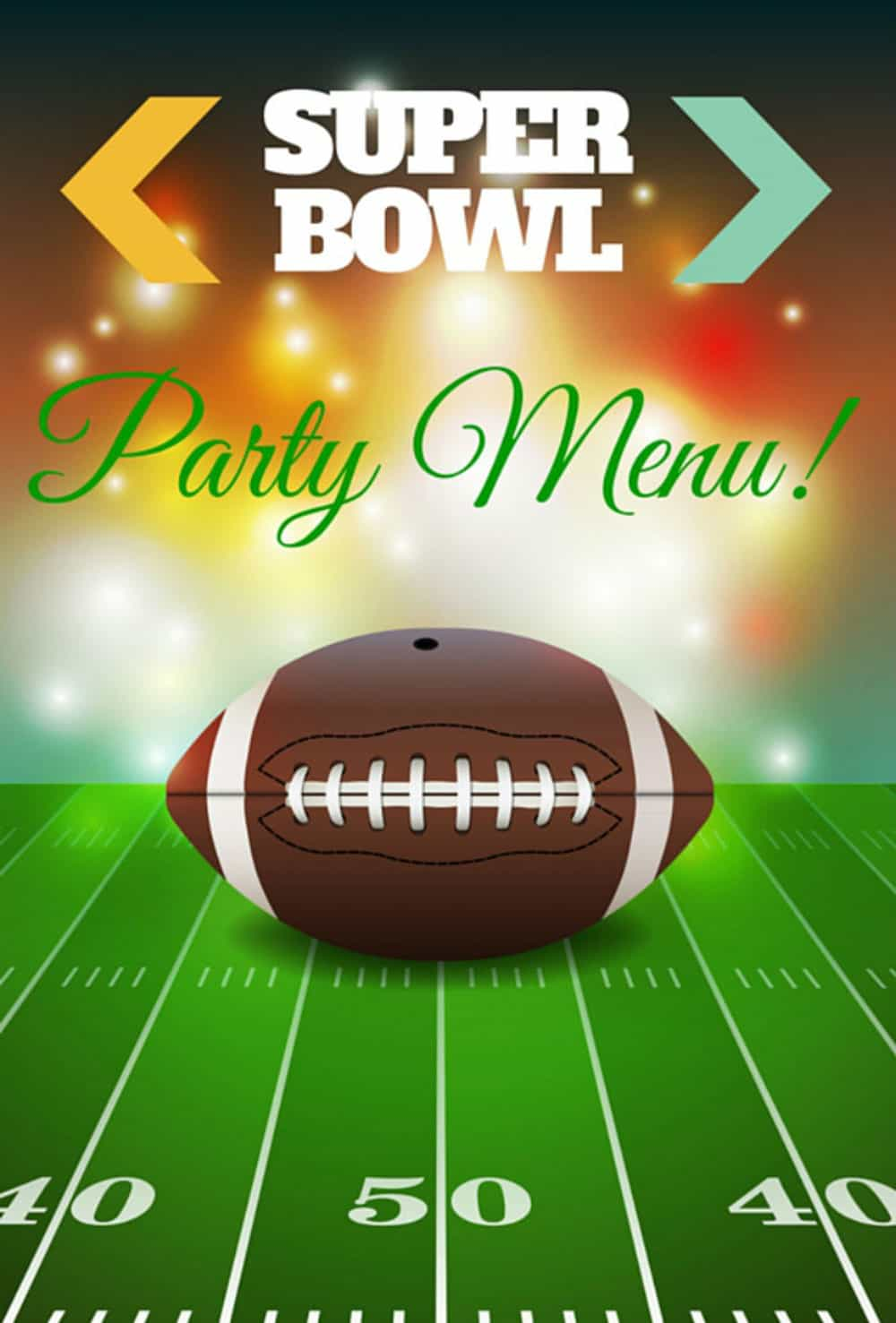 Super Bowl Party Menu | This Roundup is Crammed with Easy to Make Recipes