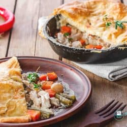 Easy Chicken Pot Pie With Puff Pastry You Can Make Tonight!