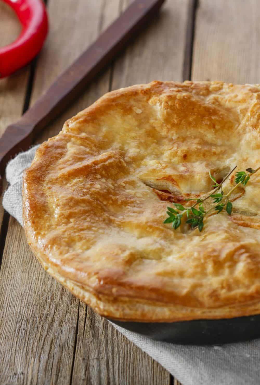 Easy Homemade Chicken Pot Pie You Can Make Anytime!