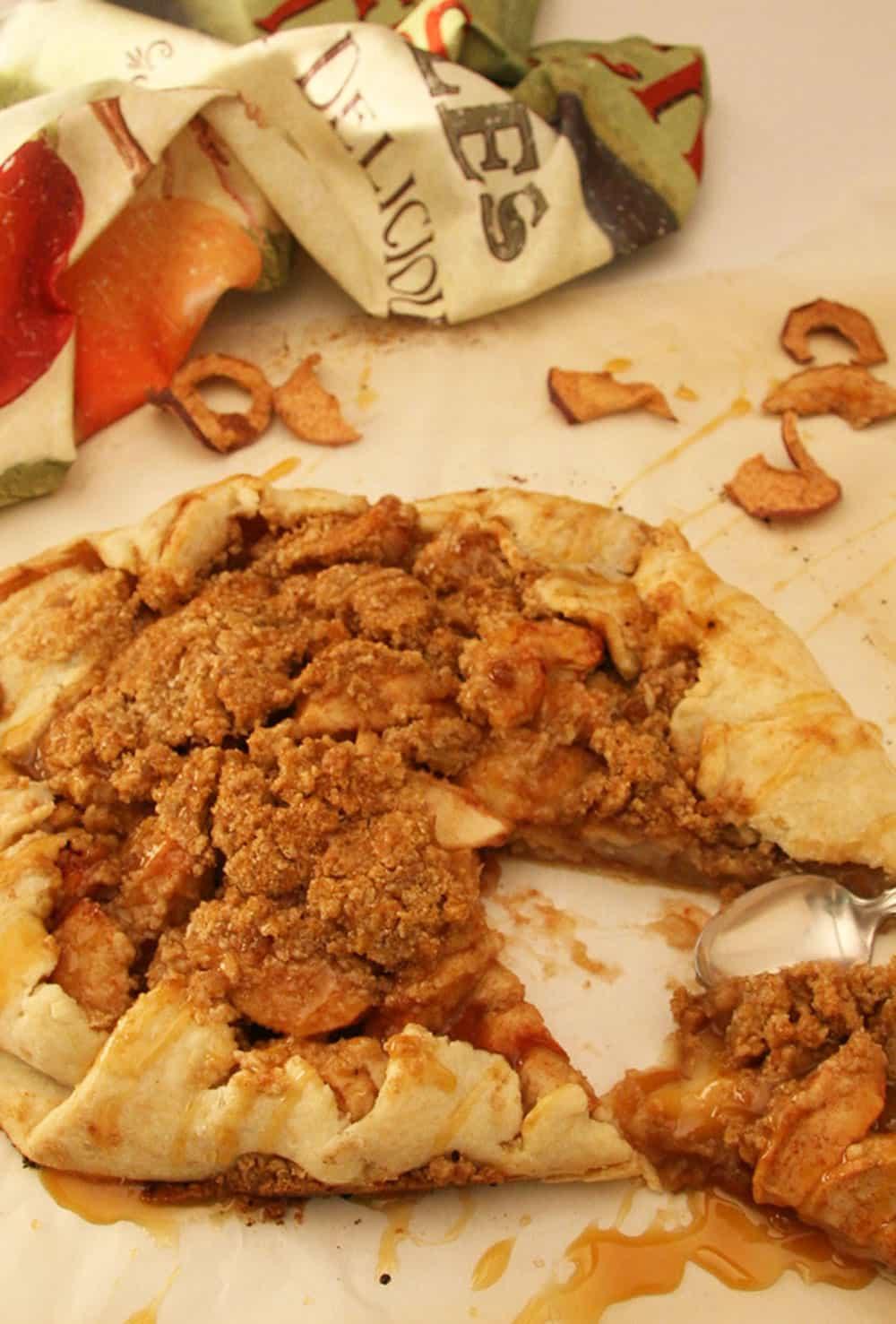 Harvest Apple Galette | Just Like Apple Pie!
