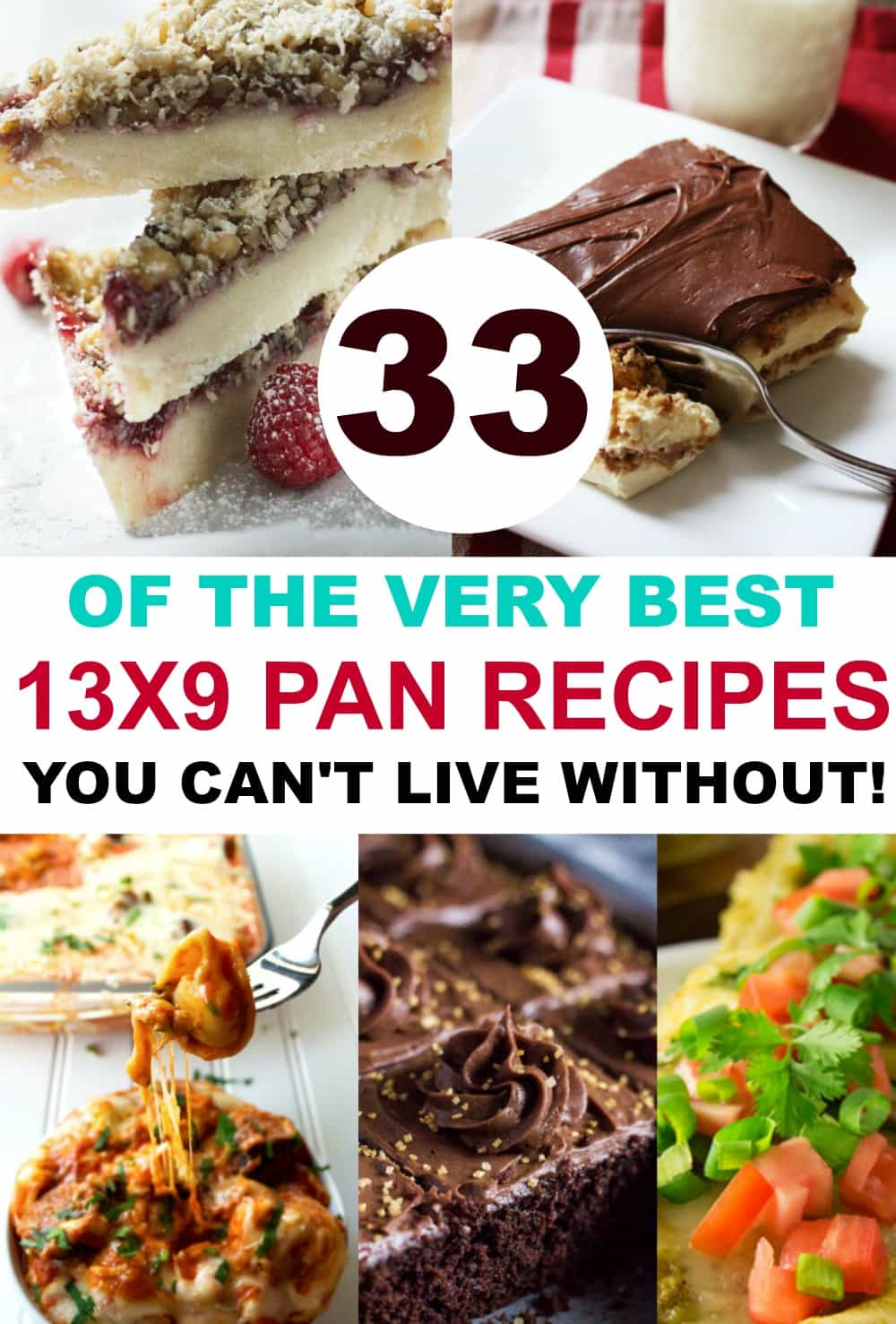 13 X 9 Baking   33 Recipes You Can't Live Without!