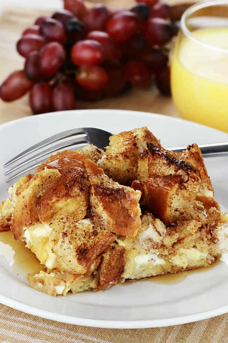 Cinnamon Raisin French Toast Soufflée for Two!