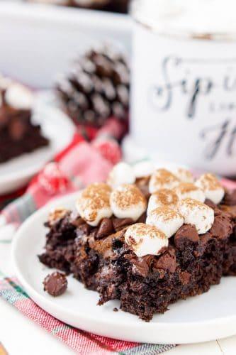 Chocolate Eclair Dump Cake