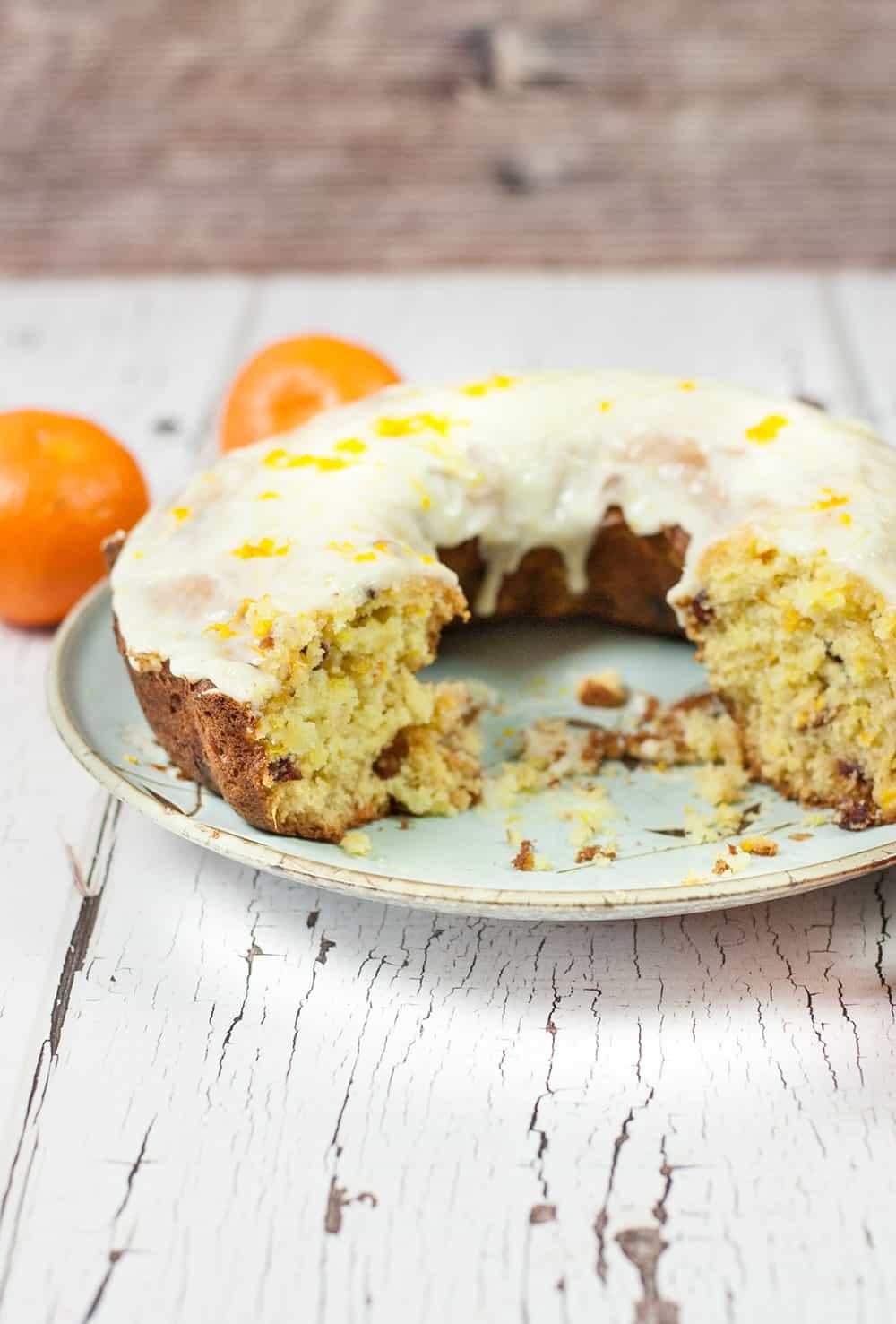 Delicious Orange Cranberry Bundt Cake Recipe