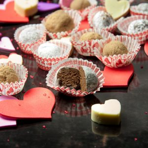 This recipe for Chocolate Rum TRUFFLES is so good! A fun & easy recipe to make. But be careful! You just might keep them all to yourself.