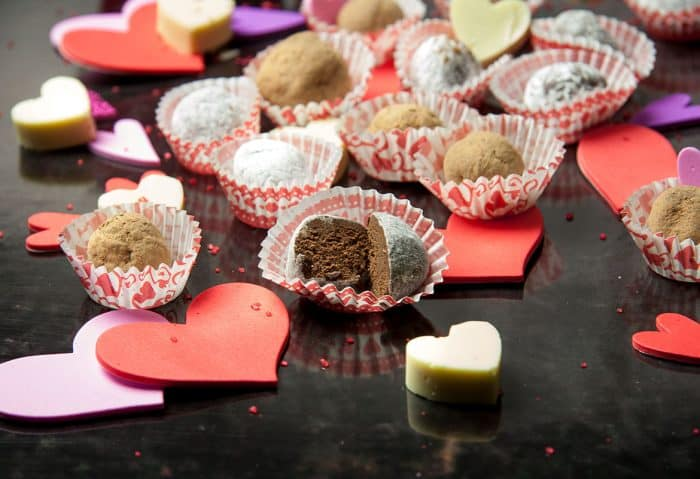 This recipe for Sweet n' Sexy Chocolate Rum TRUFFLES is so good! A fun & easy recipe to make. But be careful! You just might keep them all to yourself.