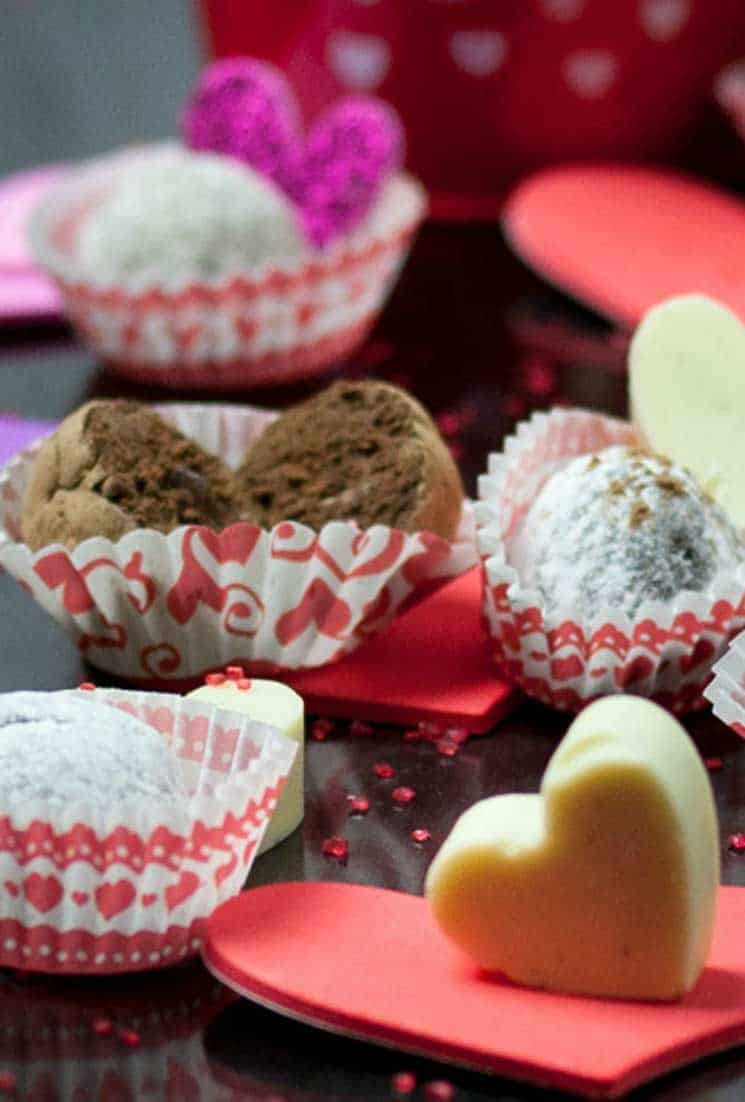 Chocolate Rum Truffles | Homemade from the Heart