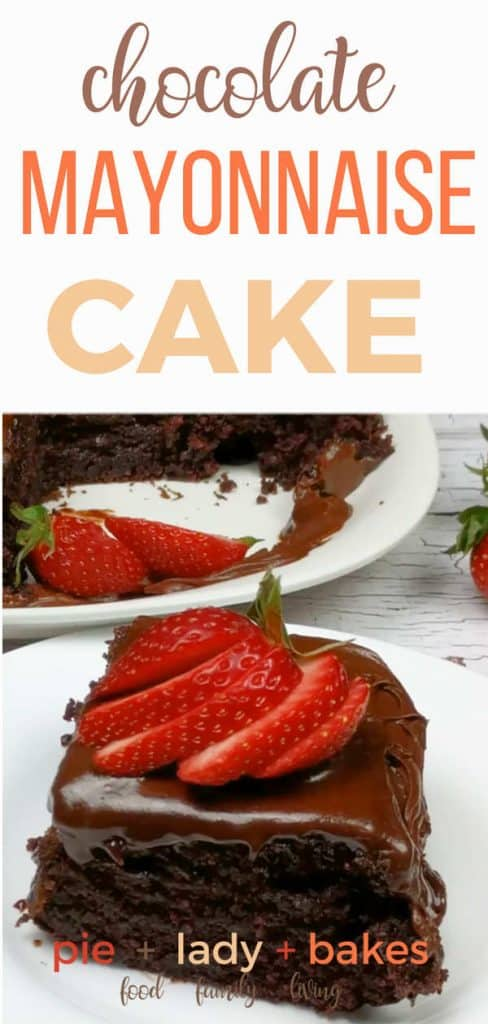 This luscious and deliciously moist Old Fashioned Chocolate Mayonnaise Cake is Grandma approved. It's so easy and the taste is out of this world!