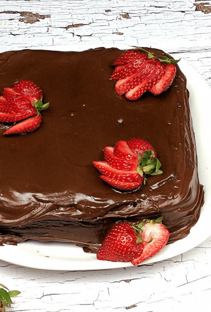 This luscious and deliciously moist Old Fashioned Chocolate Mayonnaise Cake Recipe is Grandma approved.