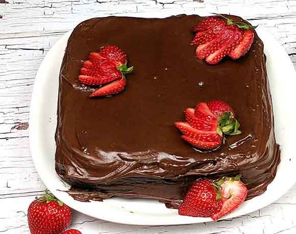 Chocolate Mayonnaise Cake Recipe Super Moist And An Easy