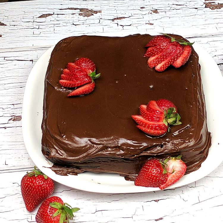 This luscious and deliciously moist Old Fashioned Chocolate Mayonnaise Cake Recipe is Grandma approved. A One Bowl Scratch Cake, it's so easy to make and the taste is out of this world!