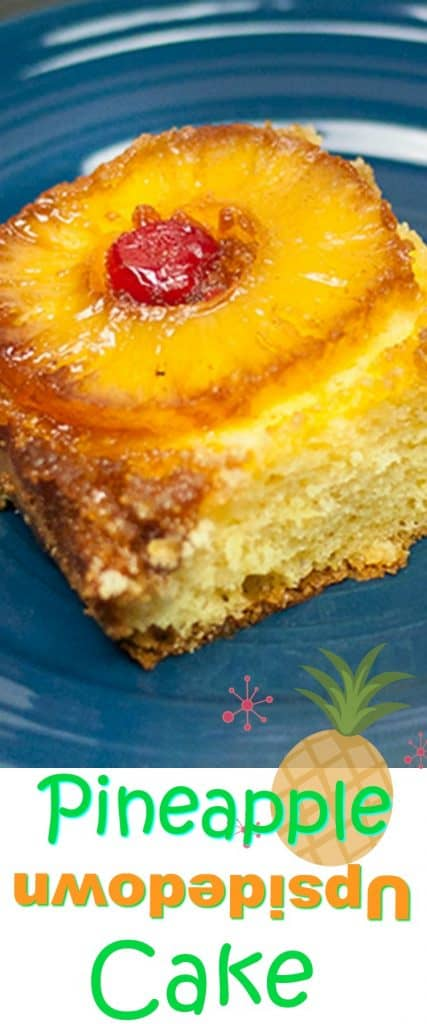 This is the Best Pineapple Upside Cake Recipe and one of the easiest cakes to bake, full of butter, brown sugar & sweet pineapple goodness! It takes no time at all!