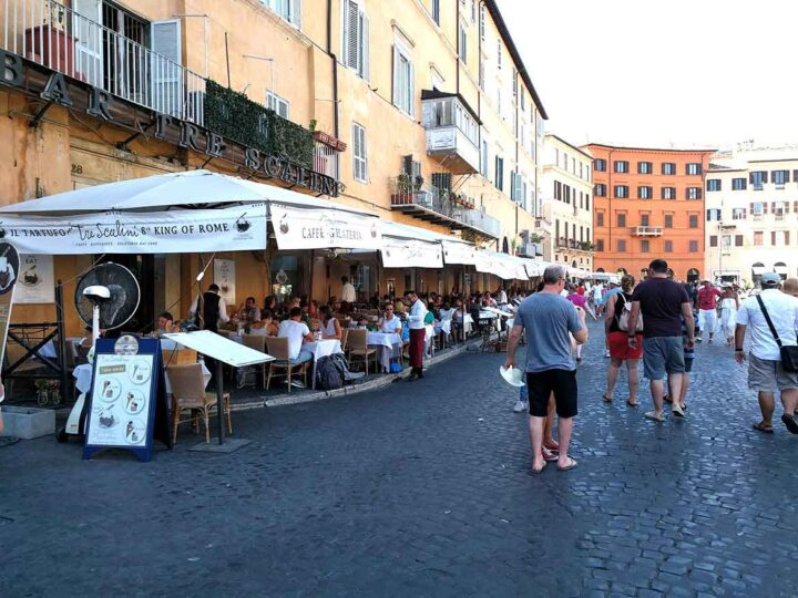 Piazza Navone, Rome, Italy