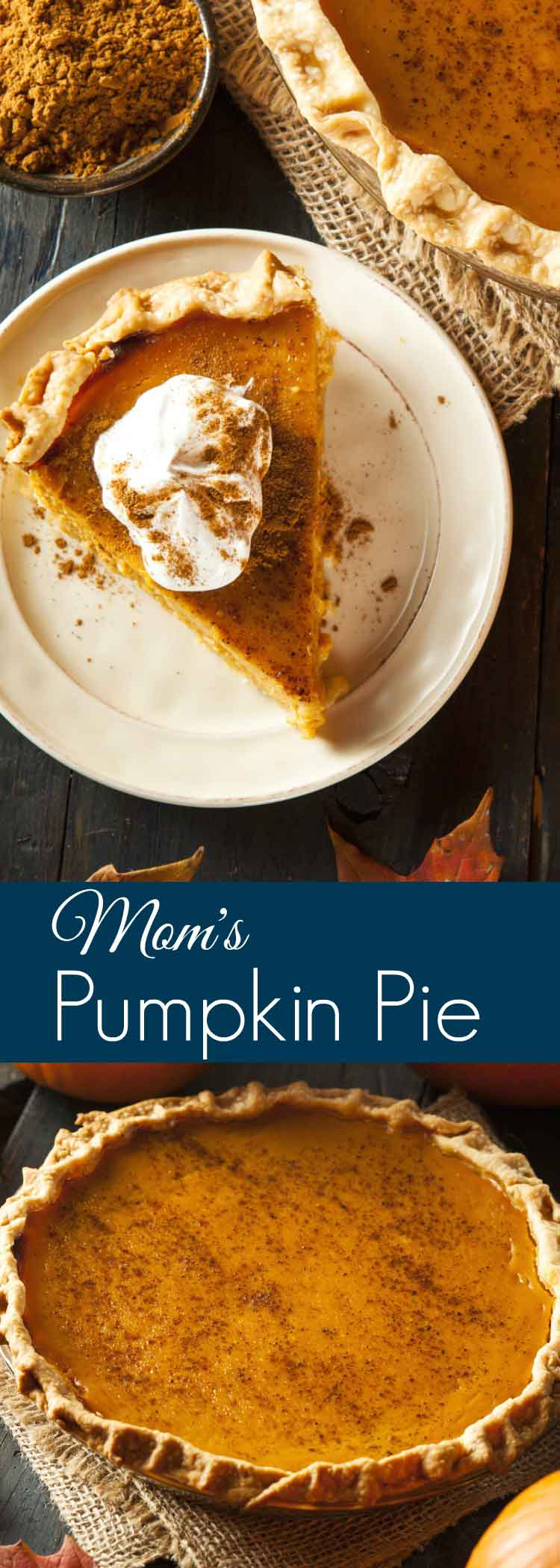 Easy Homemade Pumpkin Pie Recipe you can make from scratch for Breakfast, Lunch & Dinner! This homemade Pumpkin Pie Recipe is BIG on flavour! It's a Winner!