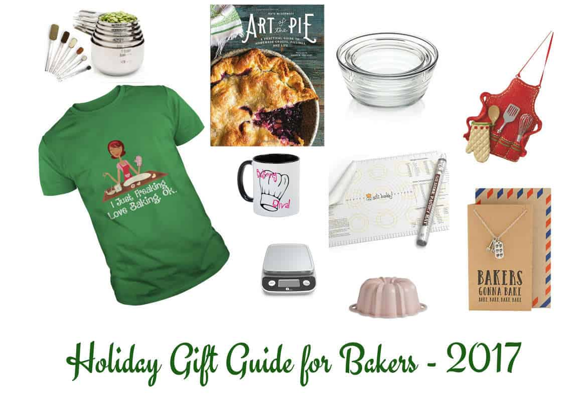 Holiday Gift Guide for Your Favorite Baker! 2017