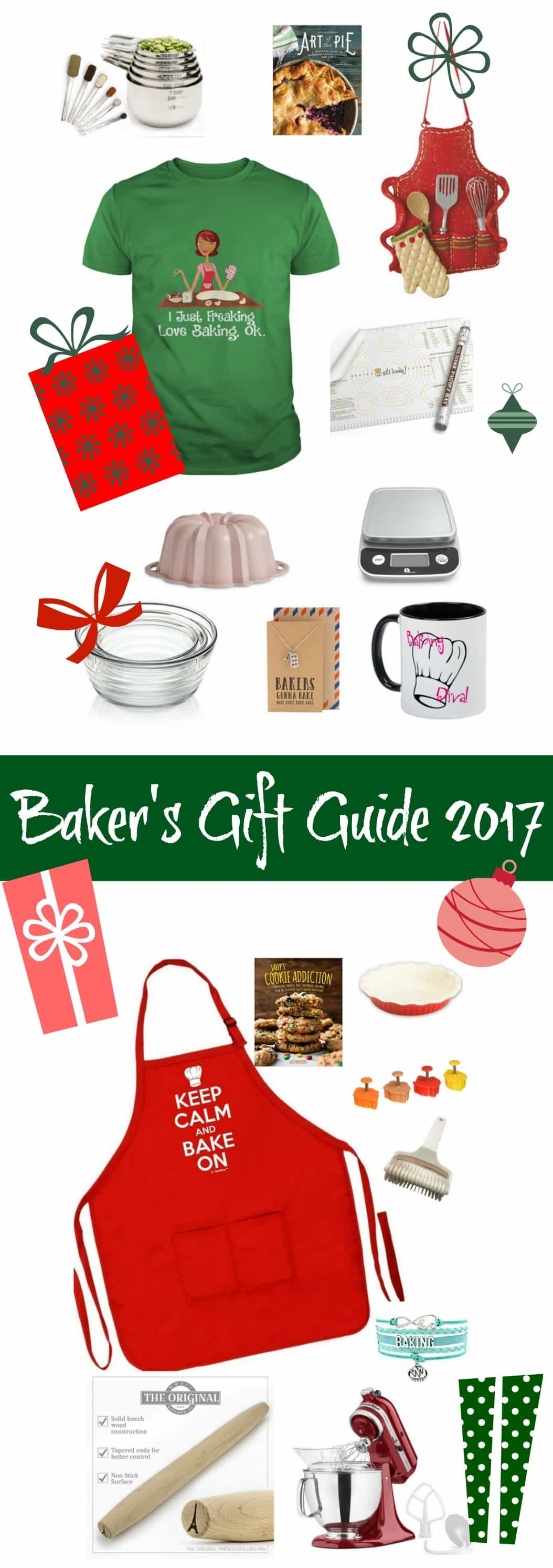 This Holiday Gift Guide has Great Gift Ideas for the Baker in your life. You know the one that bakes you all kinds of wonderful sweet things?