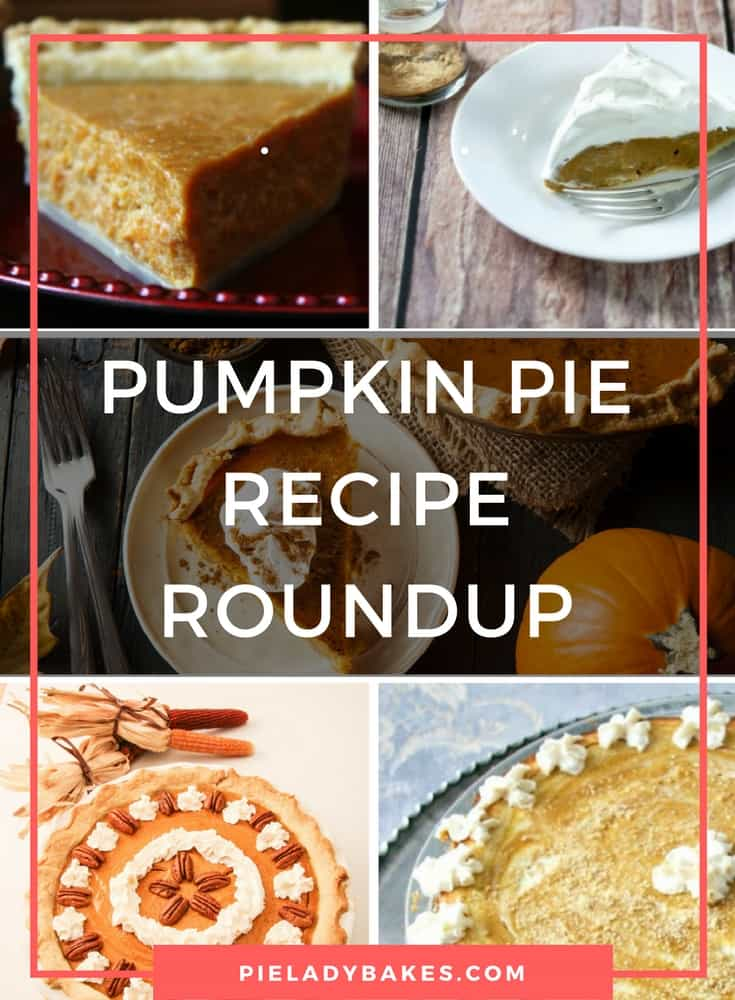 Pumpkin Pie Recipe Roundup is here just in time for the holidays. You CAN make a pumpkin pie from scratch!