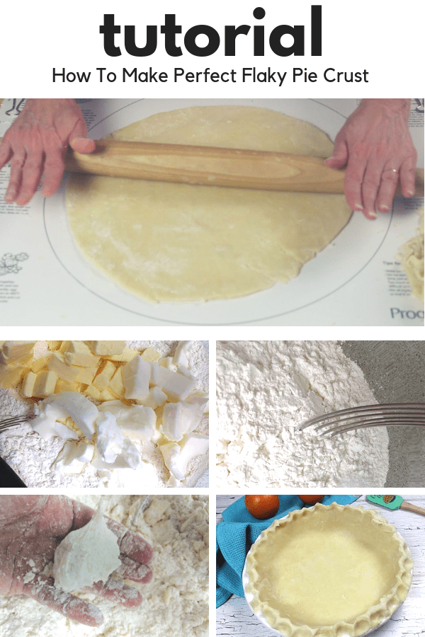 Making pie crust isn't scary! This step by step tutorial will show how you can make delicious flaky pie crust right now. You will be able bake awesome pies and wow your family and friends #howtomakepiecrust #easyrecipes #baking #piecrust