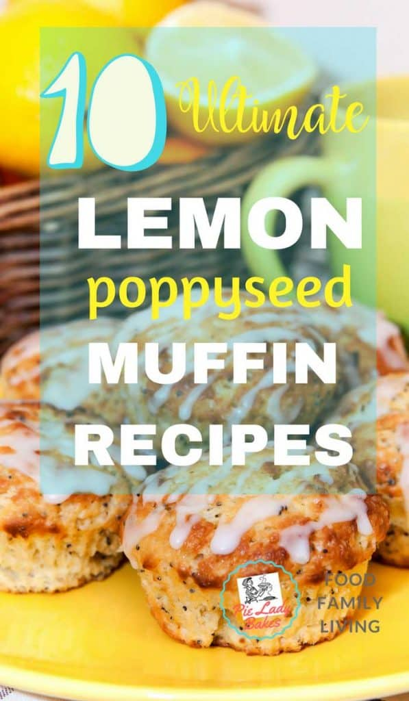 This is Your Top 10 Best Lemon Poppy Seed Muffin Recipes! All right here, we've got healthy, bakery style, paleo, gluten free, yogurt, honey, and yes poppy seeds! Lots and lots of poppy seeds.