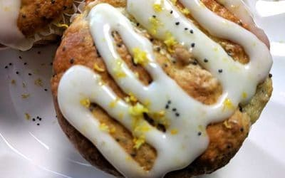 Skinny Lemon Poppy Seed Muffin Recipe