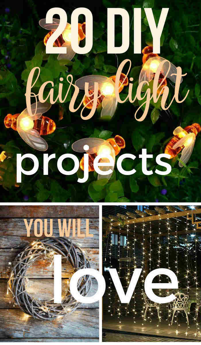 Create your own magic from these amazing DIY fairy light projects!  One of the easiest DIY projects you can do on your own, and all you need are some outdoor string lights, accessories, and a little creativity.  This DIY Fairy Light Project will transform your special place!  #fairylights #DIY #fairylightsgarden #gardenlights #specialplace #DIYgardenprojects #stringlights #stringlightprojects #youcanliverichonless