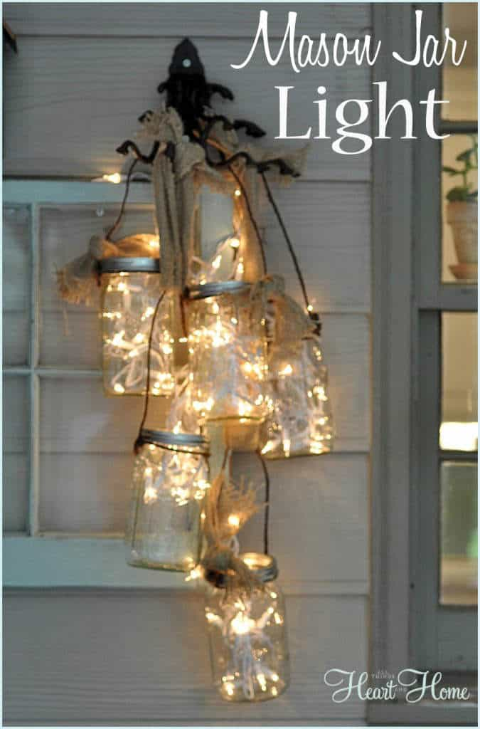 Create your own magic from these amazing DIY fairy light projects! One of the easiest DIY projects you can do on your own, fairy light projects are so popular! All you need are some outdoor string lights, accessories, and a little creativity.