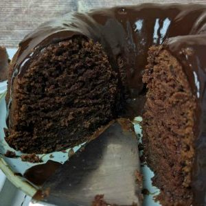Chocolate Buttermilk Bundt Cake ~ The Easiest Recipe Ever!