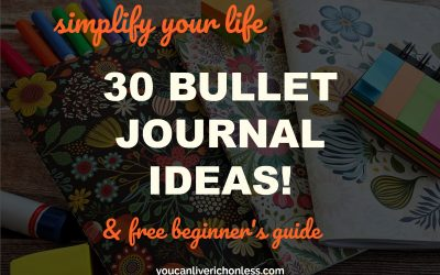 These 30 Bullet Journal Ideas Will Help You Simplify Your Life!