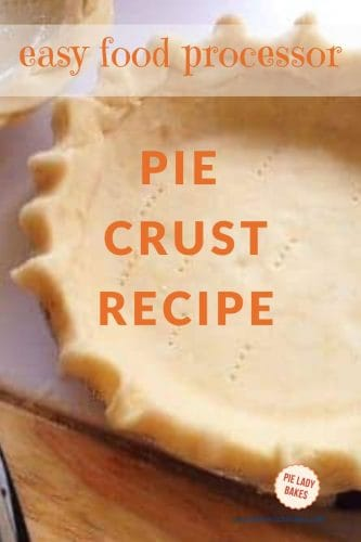 close up of pie crust that is ready to bake
