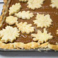 Pumpkin Slab Pie Will Feed A Crowd!