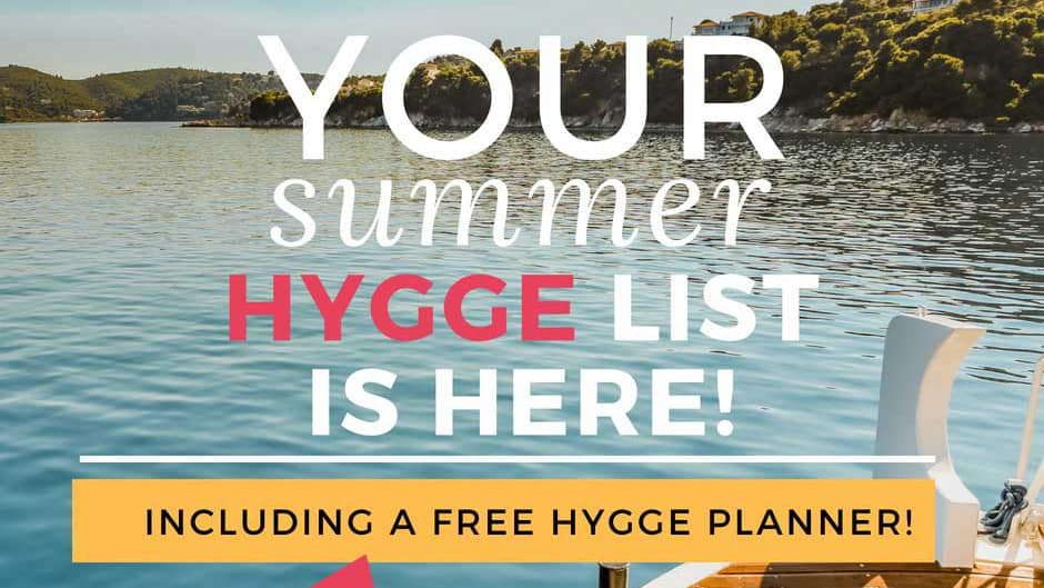 Summer Hygge?  You Betcha!  It's all about the Feels….