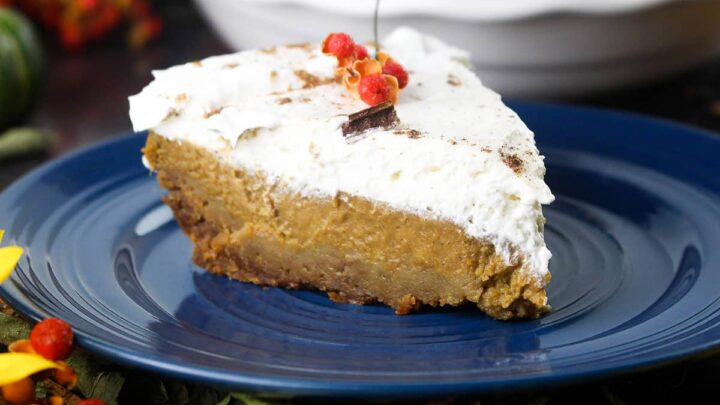 Kahlua Pumpkin Pie Recipe | A Classic Goes Mayan!