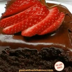 Old Fashioned Chocolate Mayonnaise Cake Recipe