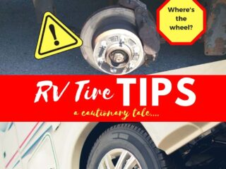 Rv Tire Tips picture of hub without wheel