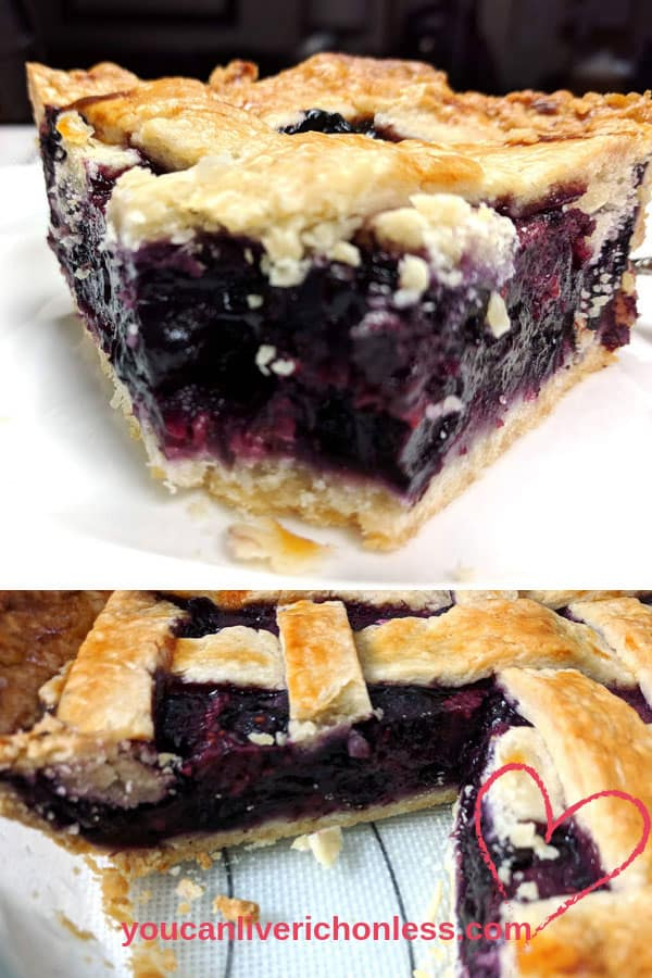 How to Make the Best Razzleberry Pie With A Lattice Pie Crust!