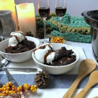 Crock Pot S'mores Chocolate Lava Cake