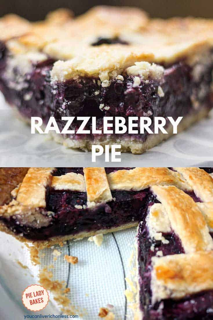 Would this Razzleberry Pie be perfect for your holiday dinner? We just love the rich berry colours, and the taste is out of this world. Triple berry pie has a delicious sweetness all it's own. And of course the buttery flaky pie crust completes the package! #razzleberrypie #tripleberrypie #piecrust #holidaydesserts