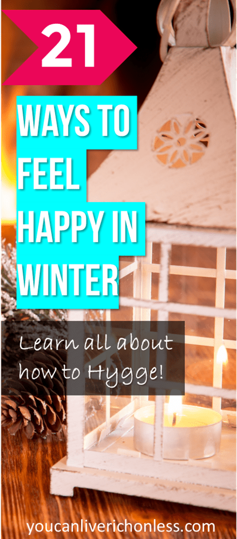 How to hygge in winter will help you get over the winter blues! Learn how the danish concept of hygge will make you smile. #hygge #winterhygge #happiness #winterblues