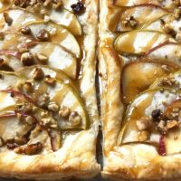 French Apple Tart in Puff Pastry