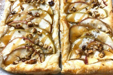 French Apple Tart In Puff Pastry | You Can Make Tonight!