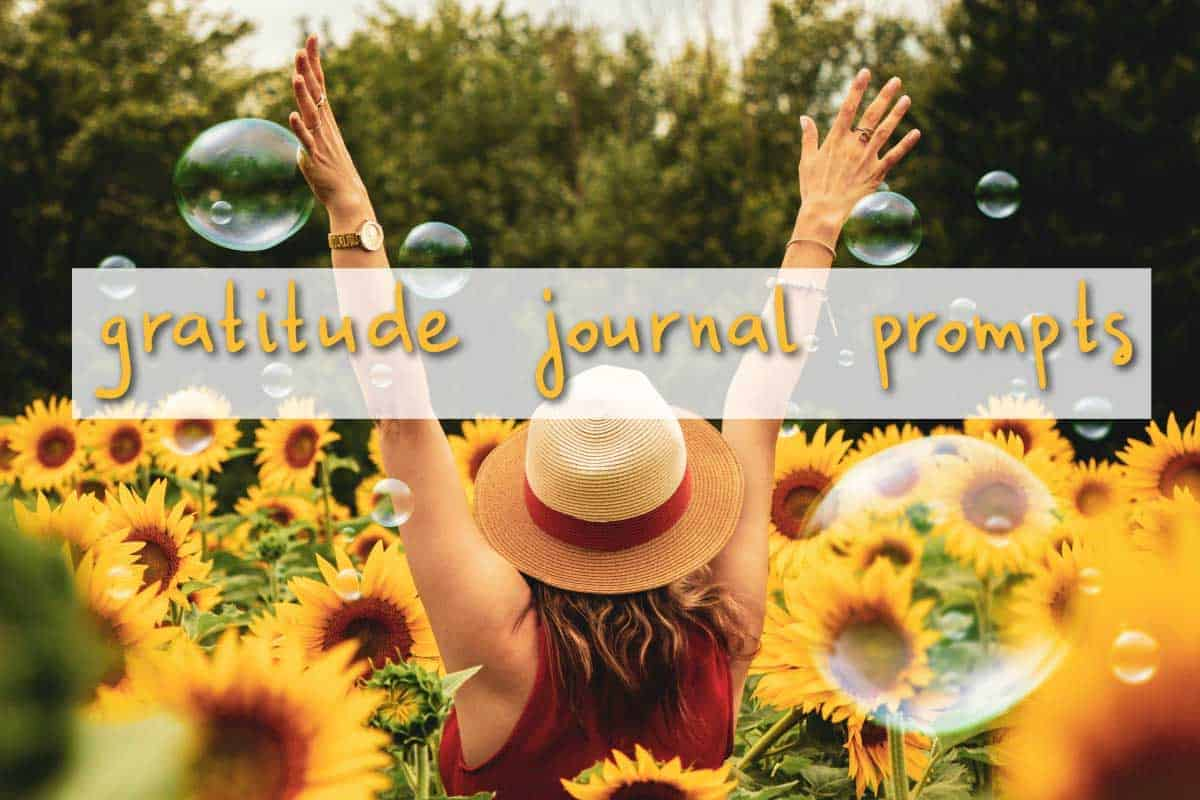 Gratitude Journal Prompts For an Entire Year