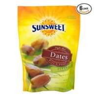Sunsweet Pitted Dates, 8.0 OZ - Pack of 6