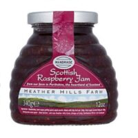 Heather Hills Scottish Raspberry Jam 340g (Pack of 3)