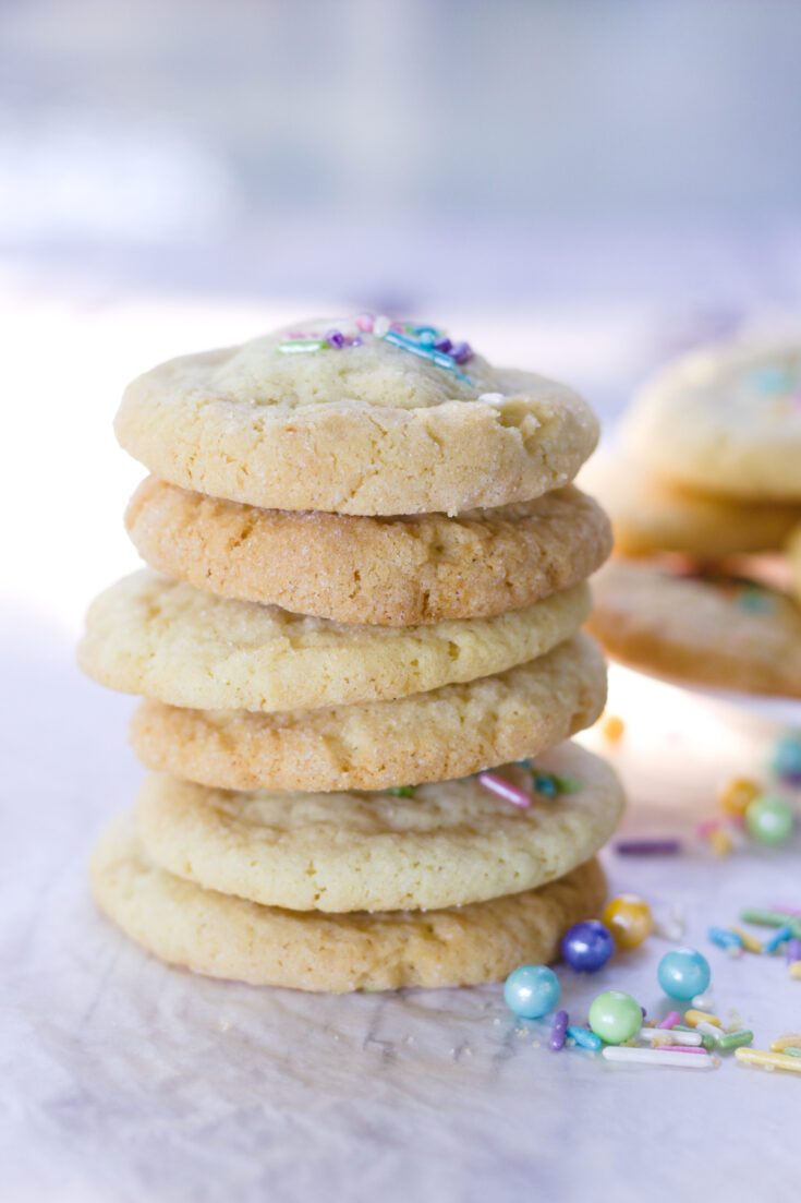 best soft and chewy sugar cookies vertical 3