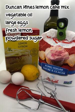 duncan hines lemon cake mix recipe ingredients image