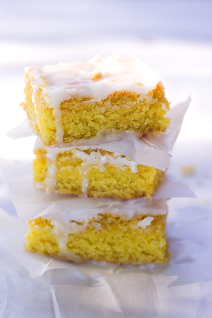 duncan hines lemon cake mix recipes stack of lemon brownies