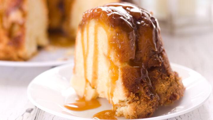 peach cobber pound cake recipe feature image